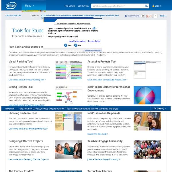 Intel edu resources