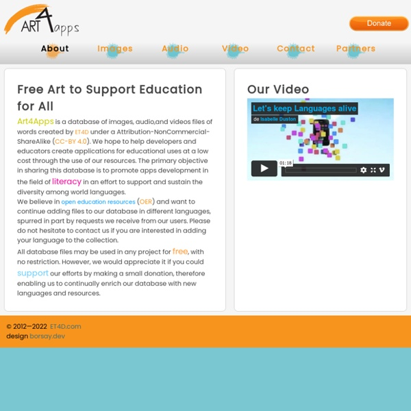 Educational Smartphone Application Art and Audio