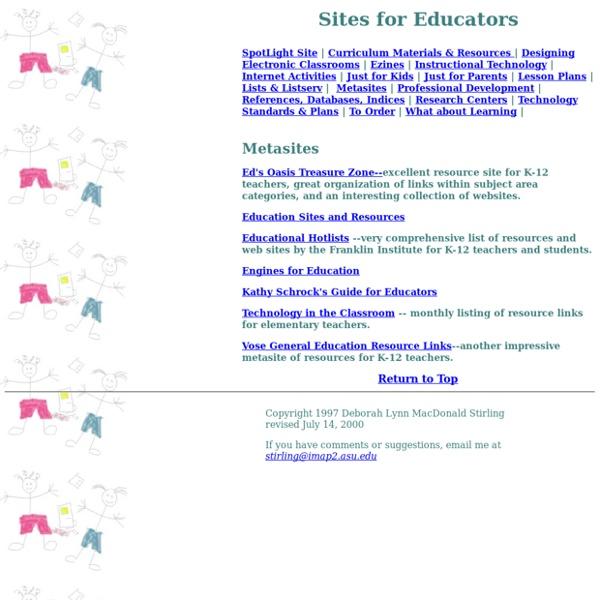 Educational MetaSites