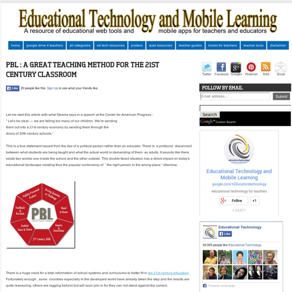 PBL – the best teaching method in the 21st century instruction