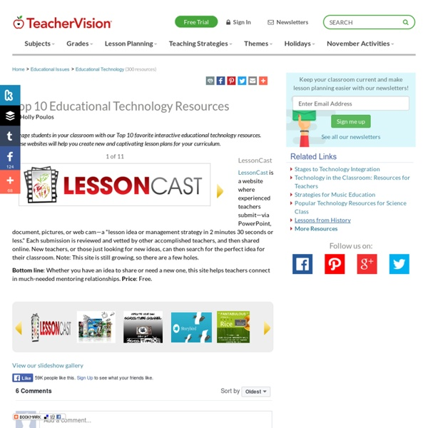 Top 10 Educational Technology Resources for the Classroom