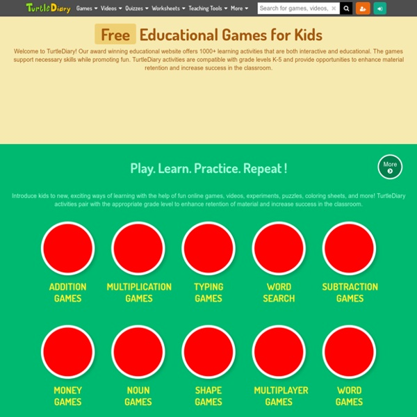 Kids Games - Educational Computer Games Online