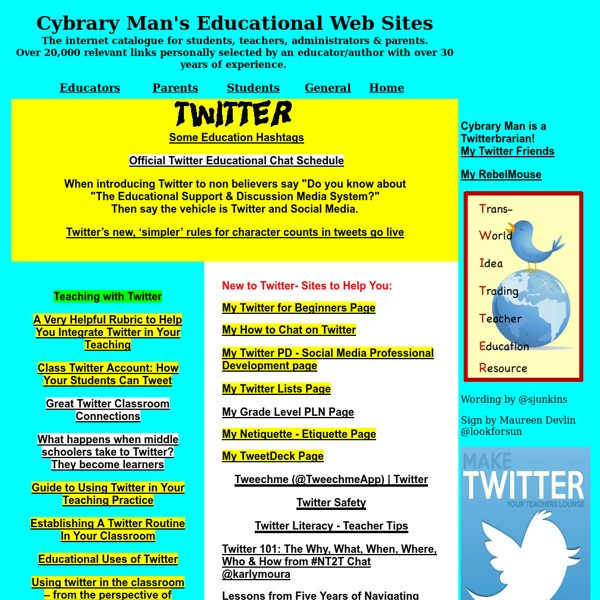 Educational Web Sites Twitter