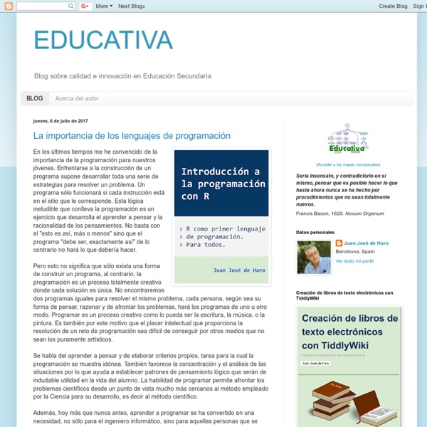 EDUCATIVA: Juan José de Haro