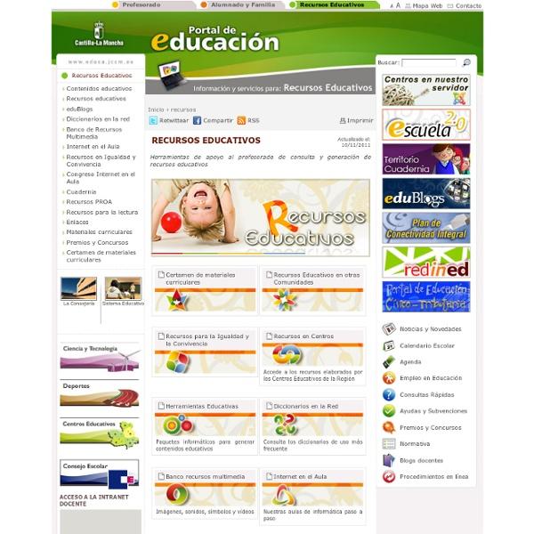 Recursos Educativos_Castilla-La Mancha