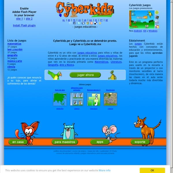Juegos educativos para niños. Matemáticas, geografia leer y escribir, música y arte, ciencia