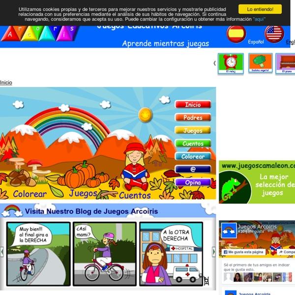 Juegos educativos en español, aprende mientras juegas - Arcoiris
