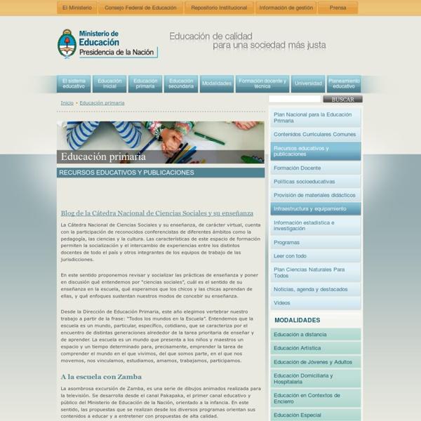 Recursos educativos y publicaciones « Educación primaria