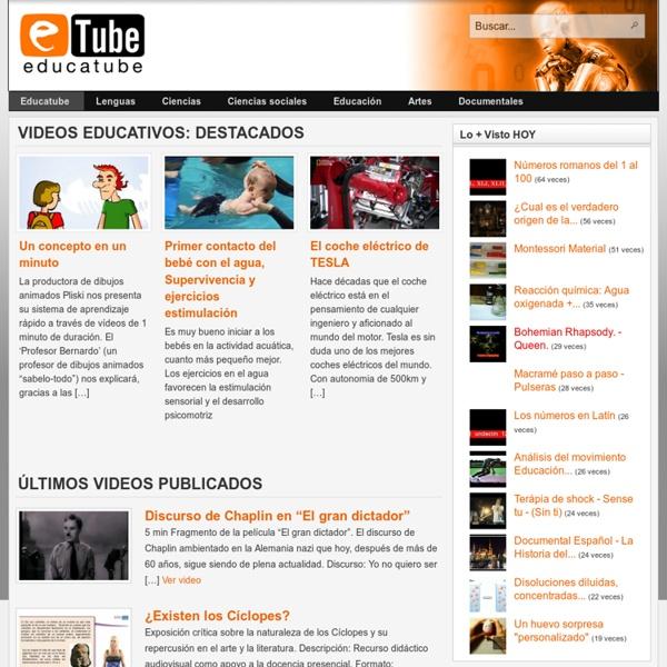 Educatube.es - Videos educativos