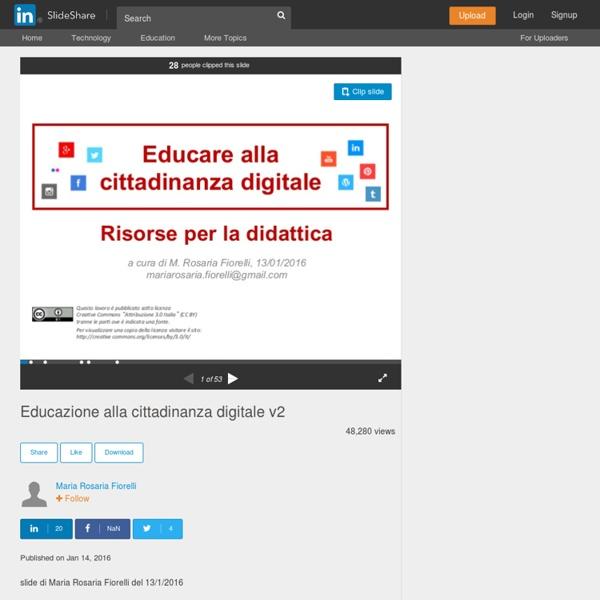Educazione alla cittadinanza digitale v2