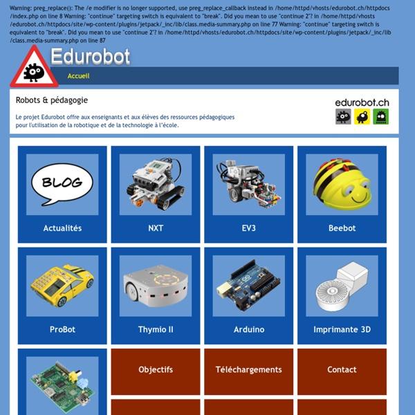 Robotique & Pédagogie