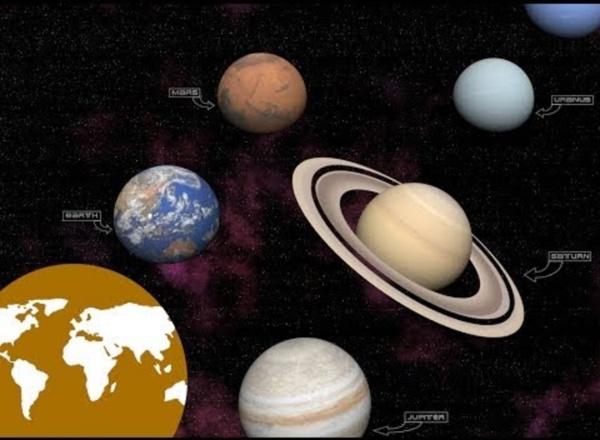 Video educativo:los astros de nuestro Sistema Solar