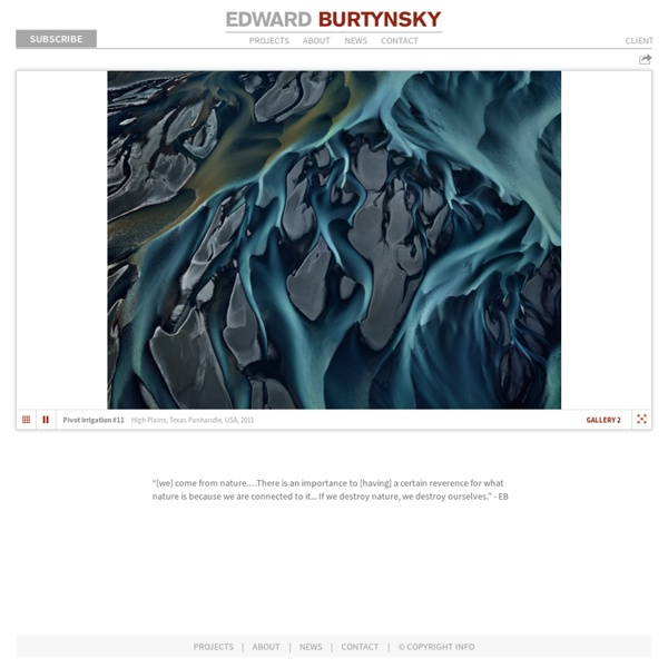 Edward Burtynsky [ Photographic Works ]
