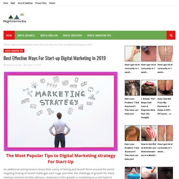 Best Effective Ways For Start-up Digital Marketing In 2019