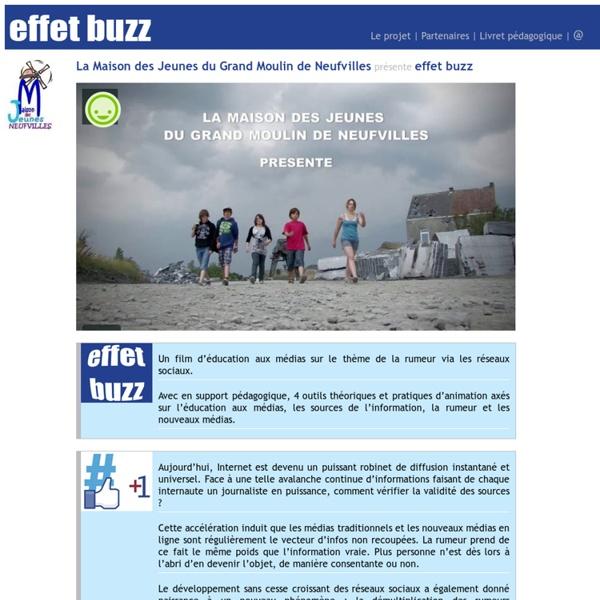 Effet Buzz - Accueil