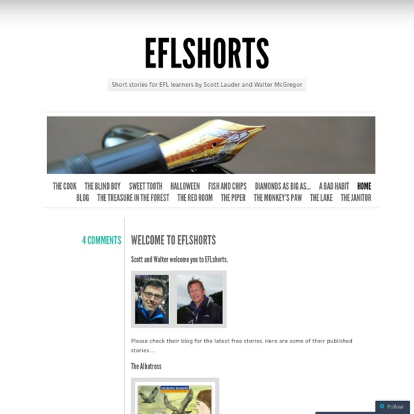 Short stories for EFL learners