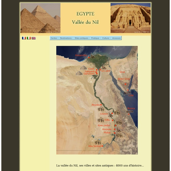 Egypte - Vallée du Nil