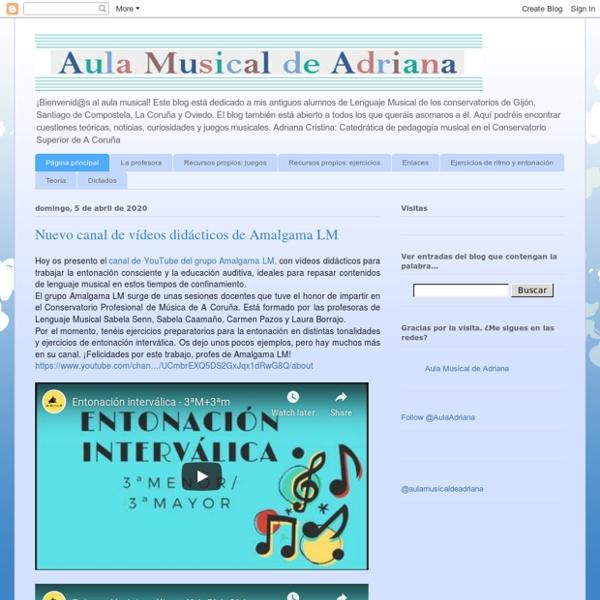 El aula musical de Adriana