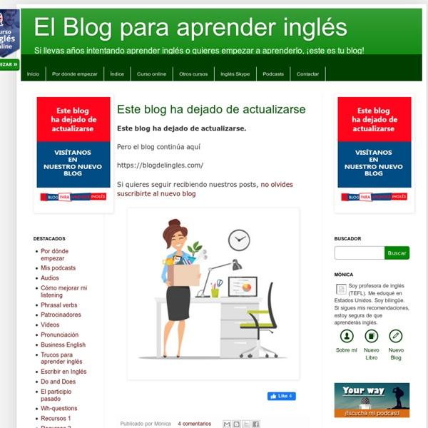 El Blog para aprender inglés