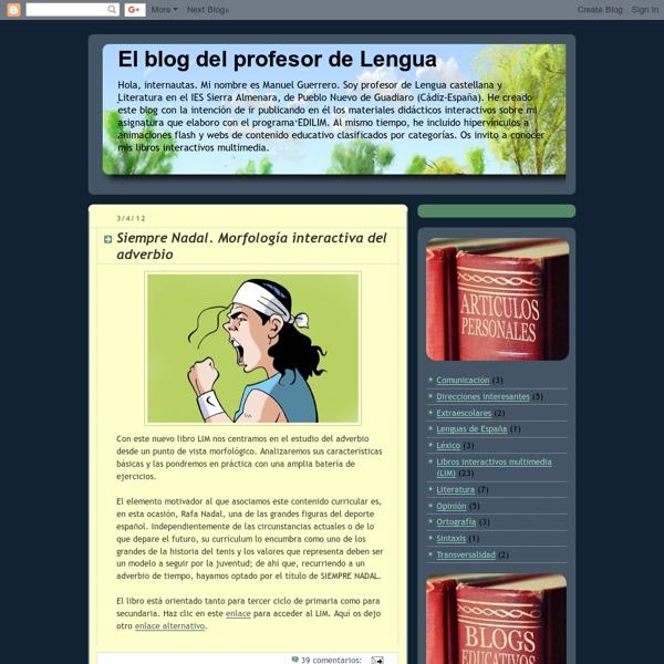 El blog del profesor de Lengua