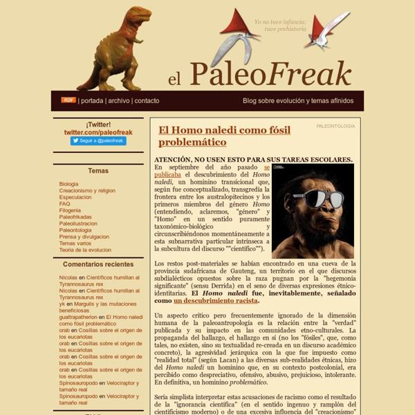 El PaleoFreak