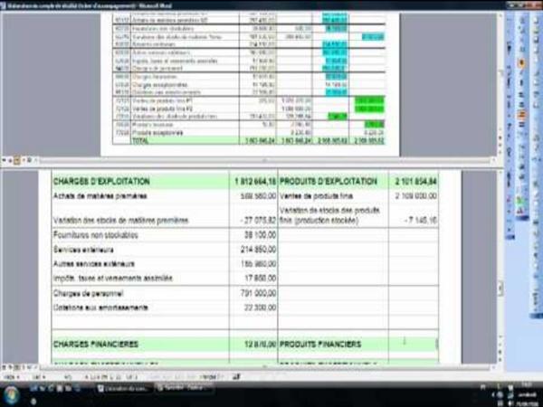 04.3 Elaboration du compte de résultat
