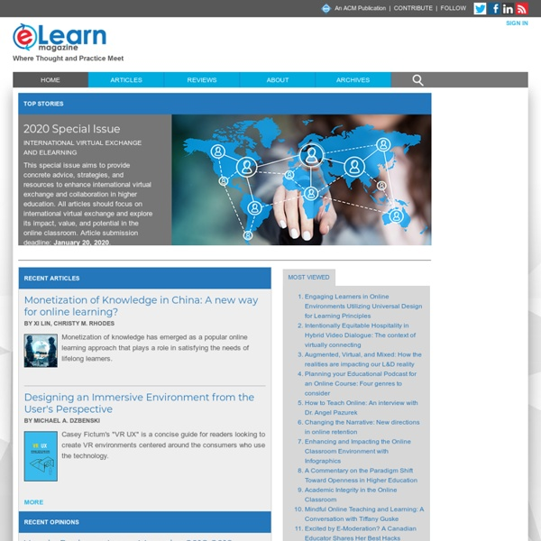 eLearn Magazine