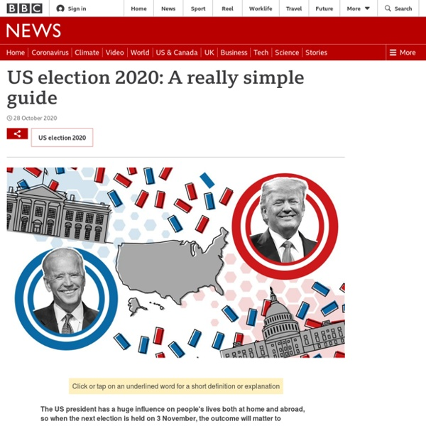 US election 2020: A really simple guide