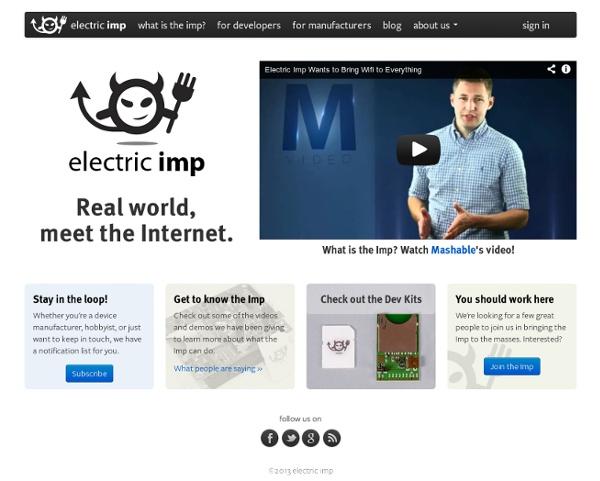 Electric Imp - Electric Imp
