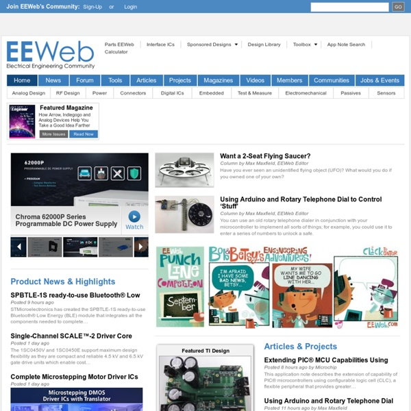 Electrical Engineering News, Resources, and Community