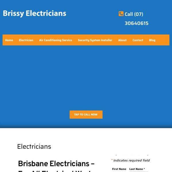 Electrician Brisbane Qld