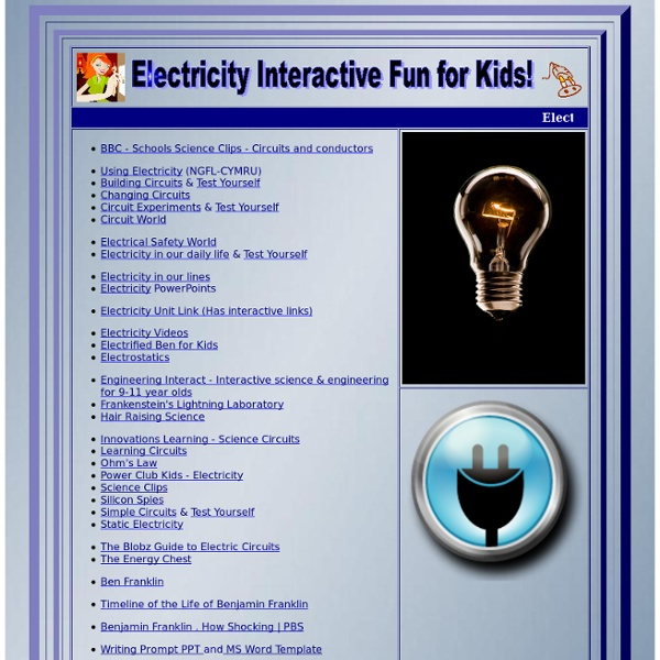 Electricity for Kids! It's Shocking!