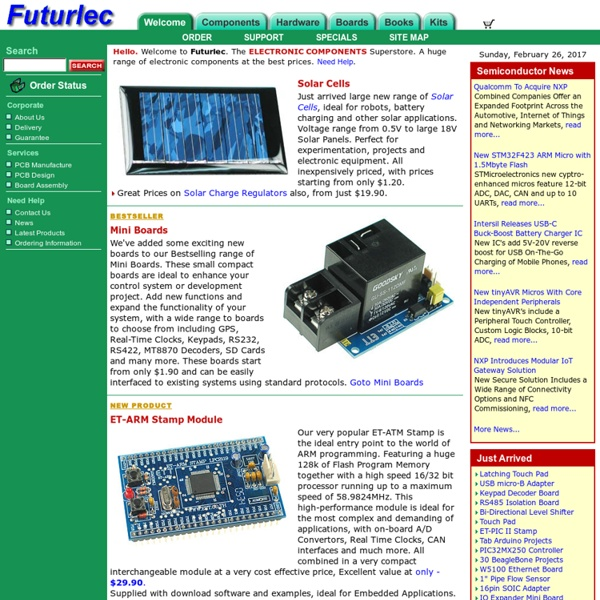 The Electronic Components and Semiconductor Superstore