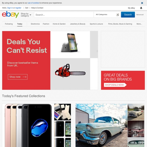 Electronics, Cars, Fashion, Collectibles, Coupons and More