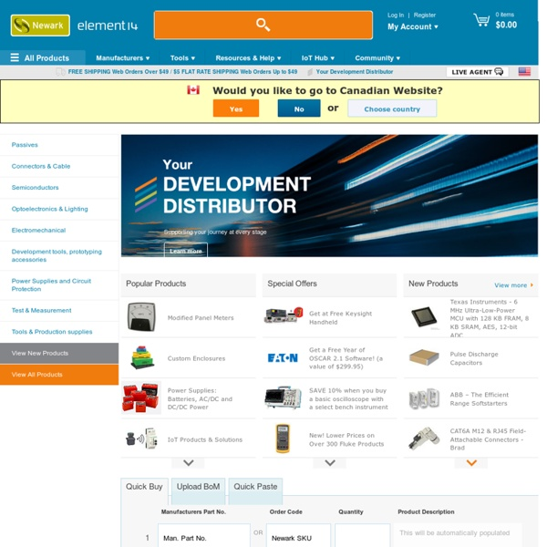 Electronic Components Distributor, Electrical Parts