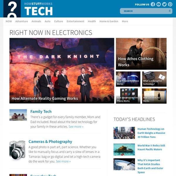 "HowStuffWorks ""Electronics"""
