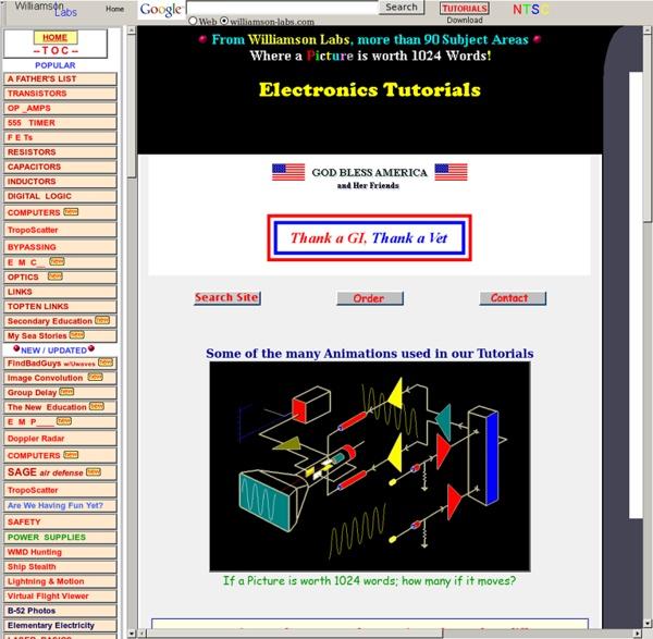 Tutorials, Electronics made EASY, Williamson Labs
