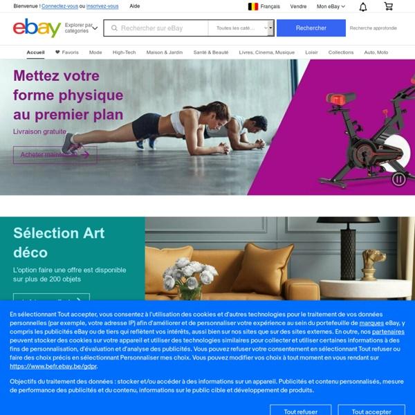 Produits électroniques, Voitures, Vêtements, Objets de collection, Bons d'achat et autres achats en ligne