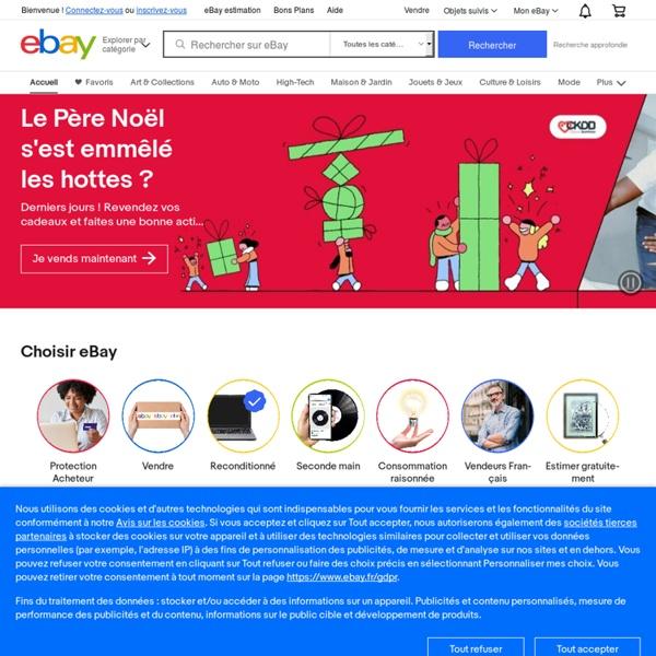 eBay - Achetez et vendez vos objets neufs ou d'occasion. Enchères, prix fixe, petites annonces - Et vous, vous achetez comment ?