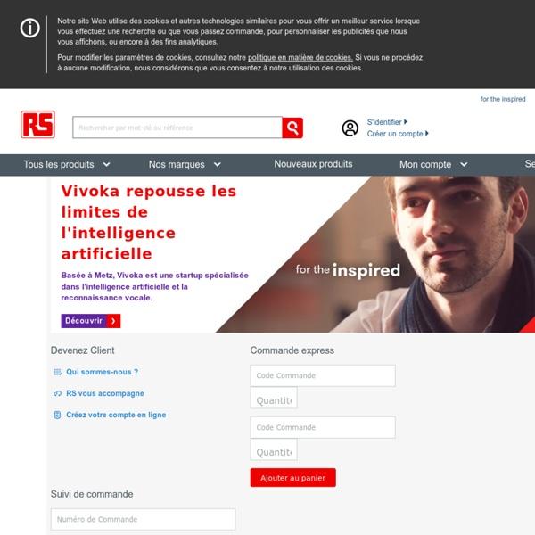RS, distributeur de composants électroniques & fournitures industrielles