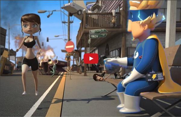 ELECTROSHOCK (HD) Brilliant Short animated Film from ESMA Students (sub titles)