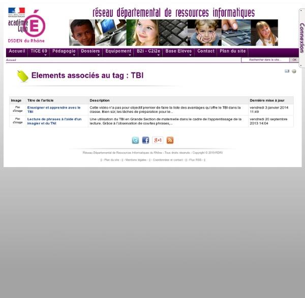 Enseigner et apprendre avec le TBI