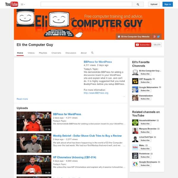 Eli the Computer Guy
