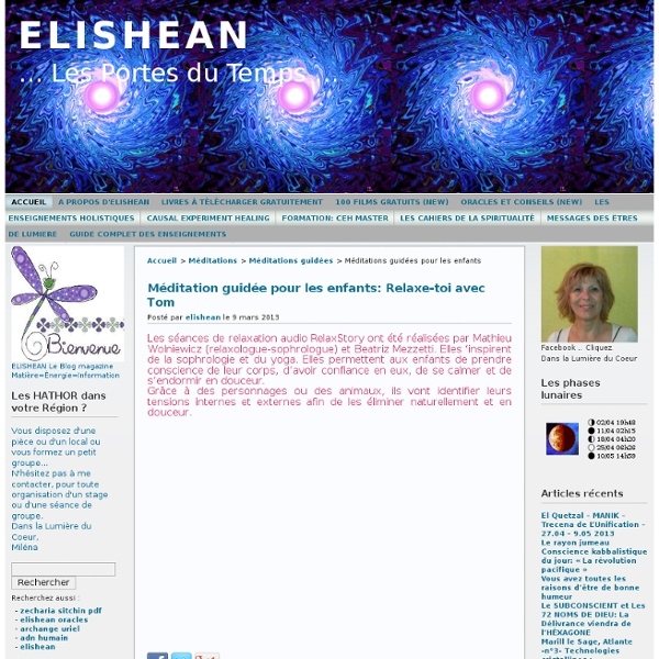 ELISHEAN » Méditations guidées pour les enfants