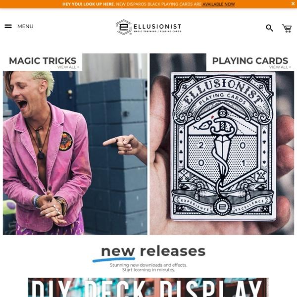 Magic Tricks - Learn Card Tricks and Street Magic