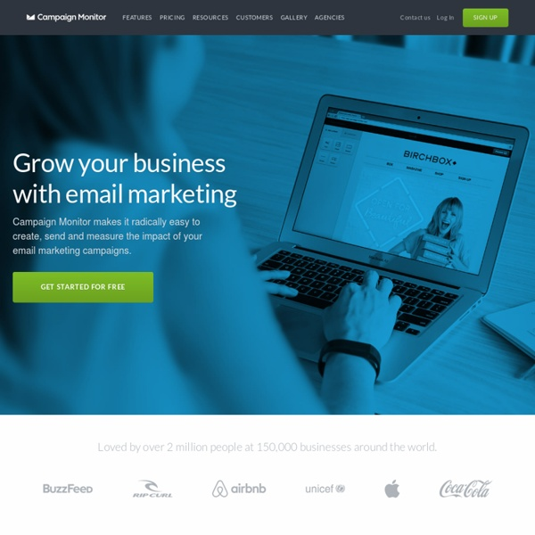 Email marketing software for web designers