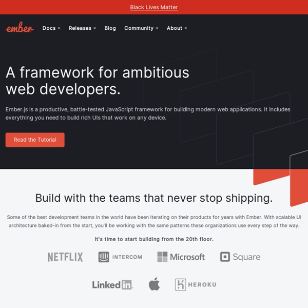 Ember.js - About