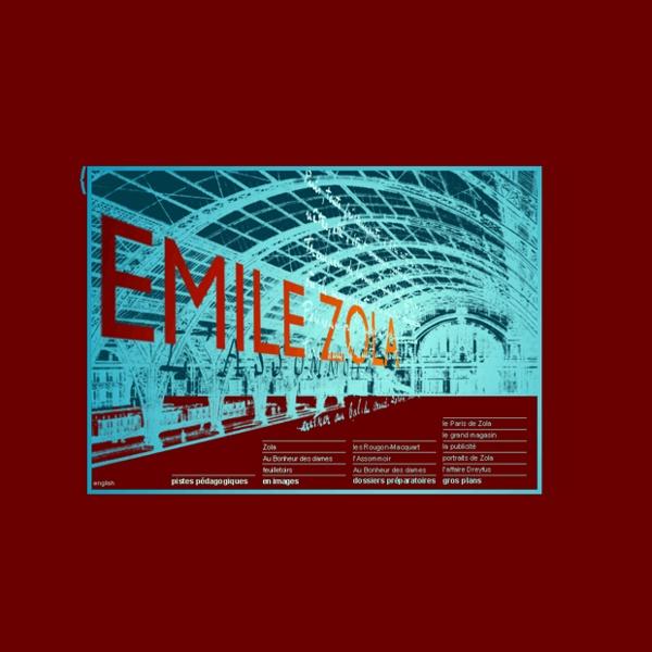 BnF - Emile Zola