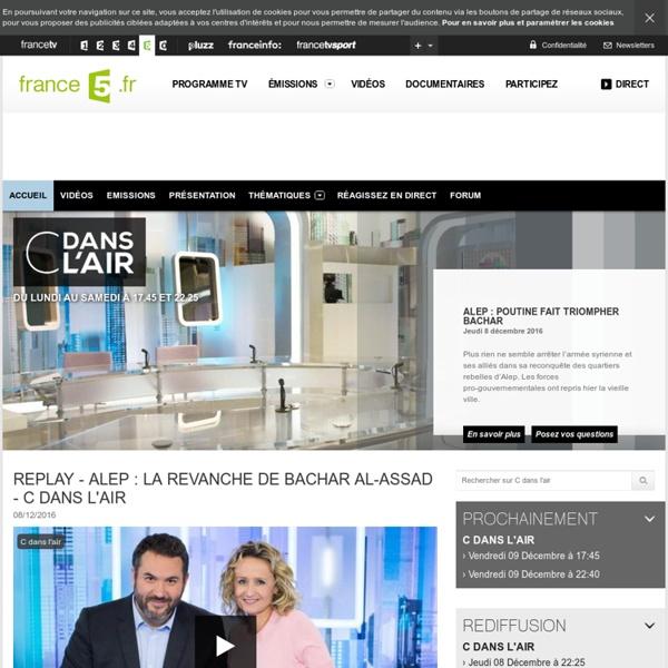 c dans l 39 air tout sur l 39 mission news et vid os en replay pearltrees. Black Bedroom Furniture Sets. Home Design Ideas