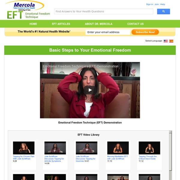 Emotional Freedom Technique (EFT) - Emotional Health